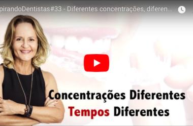 ID#33 – Diferentes concentrações, diferentes tempos